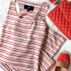 🎉HP🎉 Jack by BB Dakota Maxi Red and white striped Jack by BB Dakota sleeveless maxi dress. 76% polyester, 20% cotton, 4% spandex. Open back cutouts. Hand wash. Lay flat to dry. 58-inches long. Size small.  💌Fast Shipping💌 💎Non-Smoking💎 ⭐️10% off bundles⭐️ 🚫No trades/PayPal🚫 🎀Open to fair offers🎀 📷Instagram: laurentopor📷 💟Tumblr: nearlynewbylo💟  ✨ Happy Poshing ✨ Jack by BB Dakota Dresses Maxi