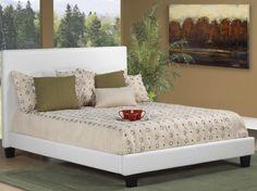 Hudson-Bonded Leather Bedframe | Ideal Home Furnishings