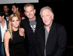 Ashley Greene, Randall Miller and Alan Rickman attend CBGB US Premiere. October 8, 2013 in New York