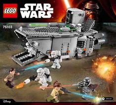 Star Wars - The Force Awakens - First Order Transporter [Lego 75103]