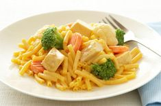 Cheesy Chicken & Veggie Mac Recipe - Kraft Recipes