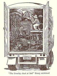 Nancy Drew & the Secret of the Old Clock, Carolyn Keene    Frame