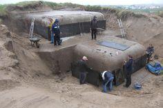 Vrijwilligers werken aan herstel van de S414 in Noordwijk