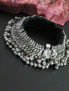 Vintage Kuchi Tribal Classic Jangle-Bell Anklet Ankle Jewelry, Ankle Bracelets, Tribal Jewelry, Jewlery, Silver Jewelry, Wedding Jewellery Designs, Indian Wedding Jewelry, Indian Jewelry, Jewelry Design