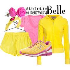 """""""Belle"""" idea for run disney marathon"""