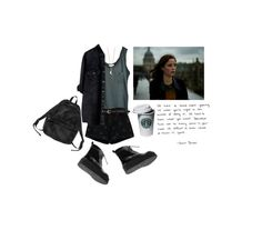 """effy stonem"" by ractse ❤ liked on Polyvore featuring American Vintage, Monki, Love Quotes Scarves and Minor Obsessions"