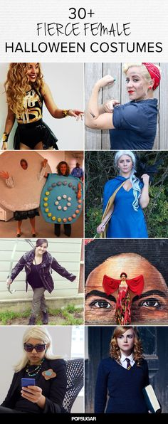 30+ Fierce Halloween Costumes That Empower Women