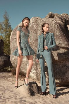 Zuhair Murad Spring 2019 Ready-to-Wear Collection - Vogue Women's Summer Fashion, Look Fashion, Runway Fashion, Trendy Fashion, Fashion Models, High Fashion, Fashion Outfits, Womens Fashion, Fashion Tips