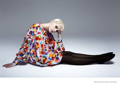 Esther Heesch Channels 60s Twiggy for Harper's Bazaar Mexico