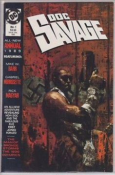 Doc Savage Annual #1 DC Comics 1989 1st annual issue first original 9.0+