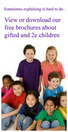 GHF Brochures make it easier to explain your child's challenges to others.