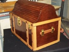 treasure chest toy box plans