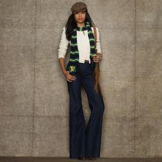 Lauren Ralph Lauren denim trousers
