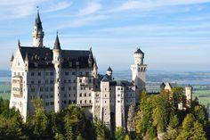 Castillo Neuschwanstein cerca de Füssen