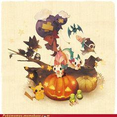 Halloween time pokemon!