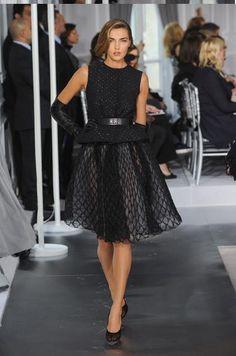 robe années 50 Dior Haute Couture printemps-été 2012