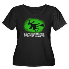 Funny Wicked Witch Women's Plus Size Scoop Neck Da