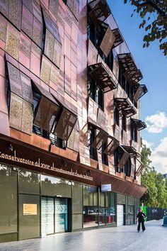 Music Conservatory in Paris' 17th Arrondissement: