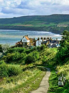 Roadway to Robin Hood's Bay (Yorkshire, England) by Matthew Hartley cr.c.