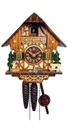 Cuckoo Clock Little black forest house ISDD Cuckoo Clocks http://www.amazon.co.uk/dp/B0028YPFMO/ref=cm_sw_r_pi_dp_oV6tub1PRZV5Z