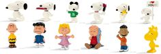 Schleich Peanuts Characters (Snoopy) - New for 2014