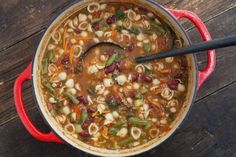 Copycat Olive Garden Minestrone Soup By Todd Wilbur Recipe - Genius Kitchensparklesparkle