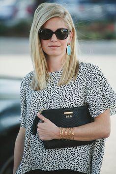GiGi New York | One Small Blonde Fashion Blog | Black All In One Clutch