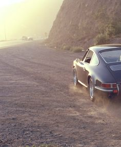 porsche 912, and the open road