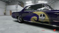 Nightmare Before Christmas Car! Yes!!