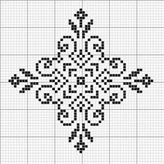 Towel with Cross-Stitch Cross Stitch Designs, Cross Stitch Patterns, Cross Stitching, Cross Stitch Embroidery, Pixel Pattern, Free Pattern, Snowflake Pattern, Perler Patterns, Tapestry Crochet