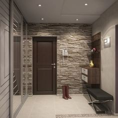 Дизайн интерьера коридора в квартире: фото и видео с вариантами ремонта от профи. Как выбрать обои и отделку прихожей. Дизайн интерьера маленького, узкого коридора.