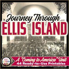 Ellis Island Immigration Unit - Immigration 4th Grade - Co
