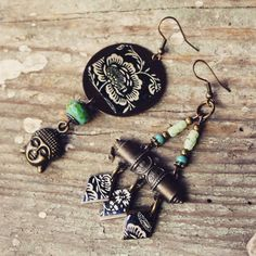 Chen-tao indian buddha bohemian vintage by afrobluejewelry on Etsy