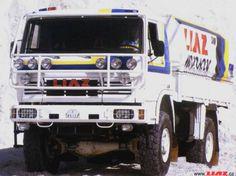 LIAZ 1987 - the winner of Dakar rallye in category of series cars Rally Raid, Road Racing, Czech Republic, Cars And Motorcycles, Engineering, Trucks, Models, Vehicles, Design