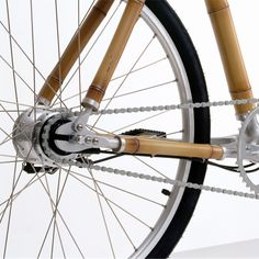 Ross Lovegrove BAMBOO BIKE Bicycle 2001-2008. BIOMEGA