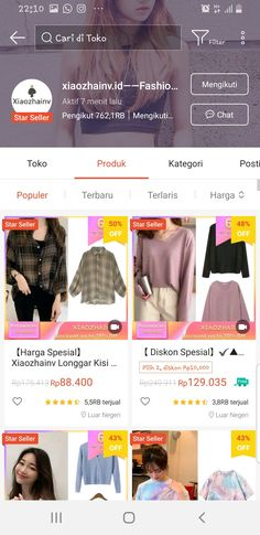 Shopping Websites, Online Shopping Clothes, Online Shop Baju, Best Online Clothing Stores, Casual Hijab Outfit, Korean Girl Fashion, Shops, Fashion Outfits, Random