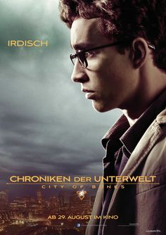 "Charakterposter ""Irdisch"" - Chroniken der Unterwelt - City of Bones - Ab 29.August 2013 im Kino!"