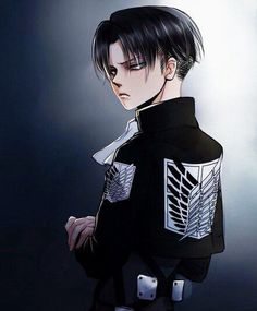 Levi Rivaille Ackerman Heichou | Attack on Titan | Shingeki no Kyojin | ♤ #anime ♤ <---- okay so has anyone else noticed that both Levi and Mikasa's last names are Ackerman...