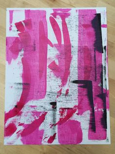 9x12 print. Pink, Magenta, Black acrylic paint on paper.    Comment #subscribe + your email address to subscribe to instant updates via email when I post new products!    Shop this post and others at spreesy.com/npbradshaw    Instagram selling powered by @spreesyco #spreesy | #instaSale #instaShop | Shop this product here: spreesy.com/npbradshaw/2 | Shop all of our products at http://spreesy.com/npbradshaw    | Pinterest selling powered by Spreesy.com