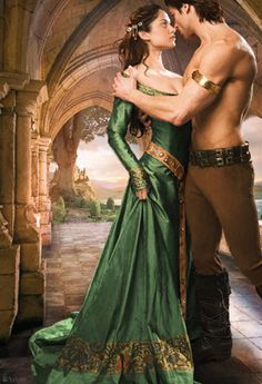 Alan Ayers Art - Inspiration for Elizabeth in The Warrior's Prize, book 4 of the True Love Brides series of #medieval #Scottish romances by #ClaireDelacroix #Ravensmuir