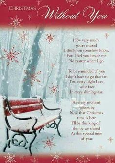 Another Christmas without you I still miss my Darling