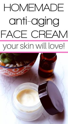 DIY Anti-Aging Moisturizer – Mama Charming A DIY anti-aging face moisturizer that is super creamy and great for dry skin. With only a few ingredients, this moisturizer is easy to make and absolutely luxurious on your skin. Anti Aging Cream, Anti Aging Skin Care, Natural Skin Care, Natural Beauty, Anti Aging Tips, Best Anti Aging, Beauty Hacks For Teens, Anti Aging Moisturizer, Natural Moisturizer For Face