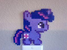 Chibi Perler Bead Ponies: Twilight Sparkle. $6.00, via Etsy.
