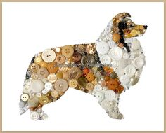 Sheltie Decorations Gifts for Sheltie Owners by BellePapiers