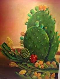 nopales y pitahayas PINNED by My Art y Lezama
