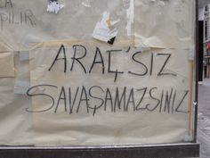 You can't fight without the vehicle. / İstiklal Avenue