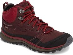 Keen Women's Shoes in Wine Nubuck Leather Color. Tackle the trail with  confidence in a sturdy, waterproof hiking boot designed for breathable  comfort and ...