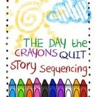The Day the Crayons Quit...This story sequencing center activity can be used in your Literacy Centers after you have either read the book to your class, or had your students listen to the book at your listening station. This is also a fun activity during your Buddy Reading time.