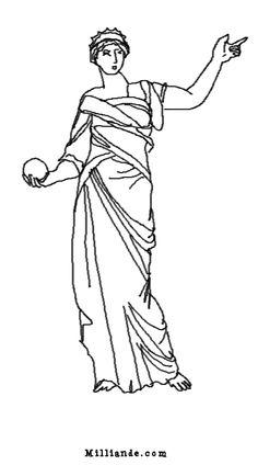 Greek Muses Coloring Book , H OP OFF 9 Muses of Greek Mythology ...