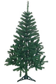 Holiday Essence 4 Foot Green Artificial Christmas Tree - 300 Tips - with PVC Base - Unlit ** Check this awesome product by going to the link at the image.